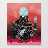 Phantom Limb Canvas Print
