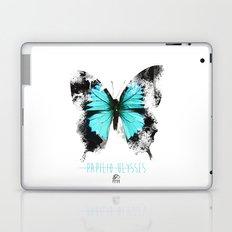 Butter flies - Papilio_Ulysses Laptop & iPad Skin