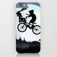 iPhone & iPod Case featuring E.T Kid by Andy Fairhurst Art