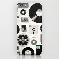 iPhone & iPod Case featuring Data by Speakerine / Florent Bodart