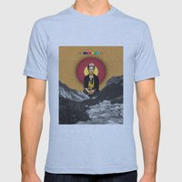 FRIDA Mens Fitted Tee Athletic Blue SMALL