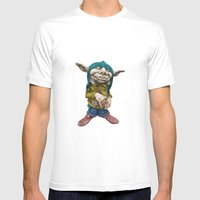 Karlchen the Goblin Mens Fitted Tee White SMALL