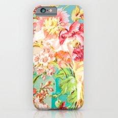 hide and seek floral Slim Case iPhone 6s