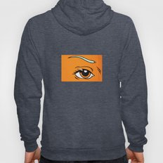 Eye orange 4 Hoody