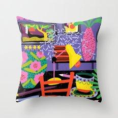 Workspace Throw Pillow