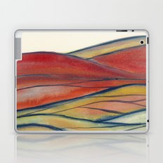 Watercolor abstract landscape 28 Laptop & iPad Skin