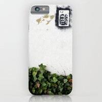 iPhone & iPod Case featuring Television versus nature by Marieken
