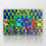 Grateful Dead Dancing Be… Laptop & iPad Skin