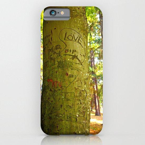 Autumn love iPhone & iPod Case