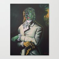 The Honorable Gregg Canvas Print