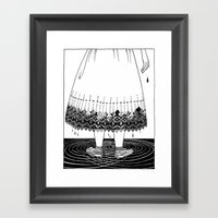 Dirty Hands And Dirty Kn… Framed Art Print