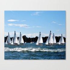 The Shortest Distance Canvas Print