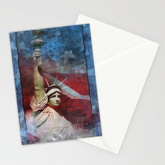 Statue of Liberty Patriotic Poster Stationery Cards