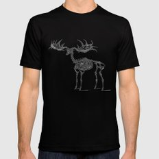 Dead Moose Black Mens Fitted Tee SMALL