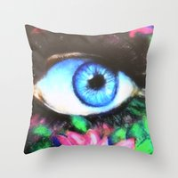 Title: 3rd Eye of Wisdom Throw Pillow