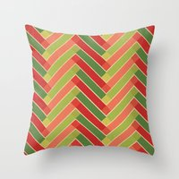 Holly Go Chevron Throw Pillow