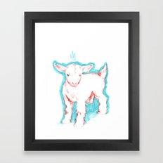 Goatesque Framed Art Print