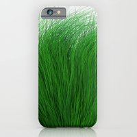 iPhone & iPod Case featuring Green Fuzz by FalexanderArt