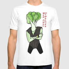 Sebastian Bok Choy Mens Fitted Tee White SMALL