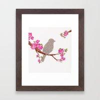 Love Bird Framed Art Print