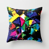 Assorted Shapes And Colo… Throw Pillow