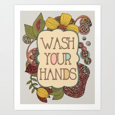 Wash your Hands Art Print