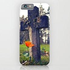 Simple cemetery cross iPhone 6 Slim Case