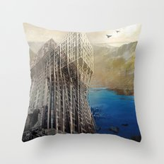 imposscape_01 Throw Pillow