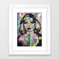 Screaming Skin Framed Art Print