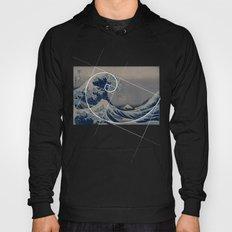 Hokusai Meets Fibonacci Hoody