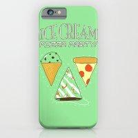 Ice Cream Pizza Party iPhone 6 Slim Case