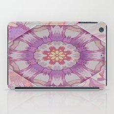 Soft Lavender Floral Kaleioscope iPad Case