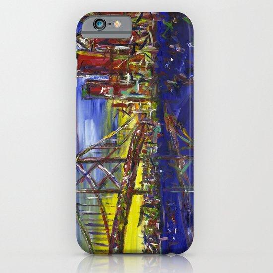 Philly Skyline with Ben Franklin Bridge iPhone & iPod Case