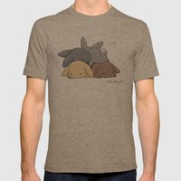 Oops Mens Fitted Tee Tri-Coffee SMALL
