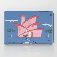 Pink Panther's Modern House iPad Case