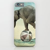 iPhone & iPod Case featuring Elephant at Sea by vin zzep