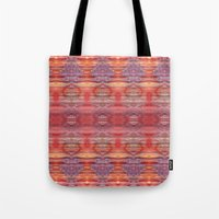 Red And Purple Watercolo… Tote Bag
