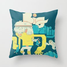Big Ballin' Throw Pillow
