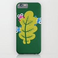 Bugs Eat Green Leaf iPhone 6 Slim Case