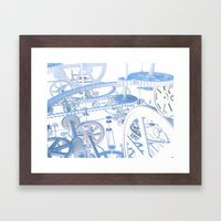 The Dream Machine Framed Art Print