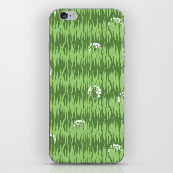 Grassy iPhone & iPod Skin