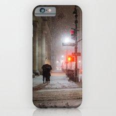New York City Snow Romance Slim Case iPhone 6s