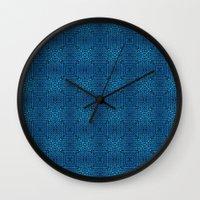 Knit Reflection Wall Clock