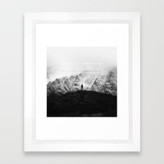 Geometric New Zealand Framed Art Print