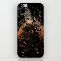 Arising after a fall iPhone & iPod Skin