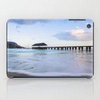 Hanalei Bay Pier at Sunrise iPad Case