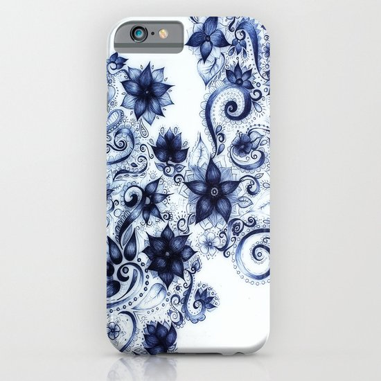 Ballpoint Florals iPhone & iPod Case