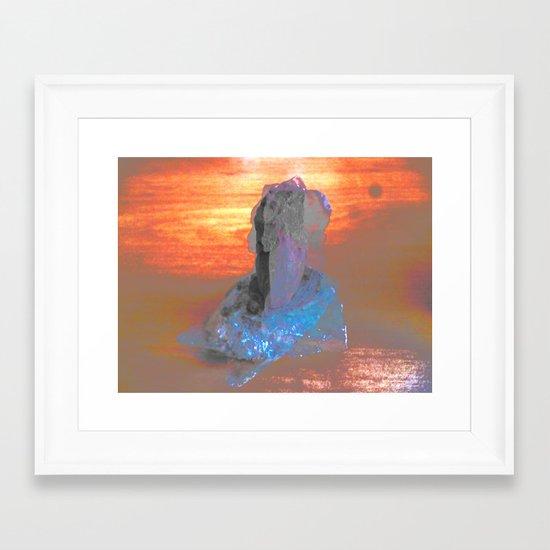M53j4c Framed Art Print