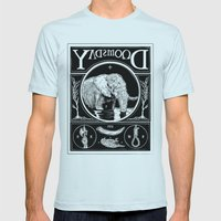 Doomsday Mens Fitted Tee Light Blue SMALL
