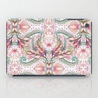 Lily, Leaf & Triangle Pa… iPad Case